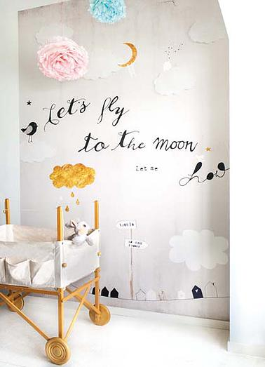 Fly to the moon OZ 3156
