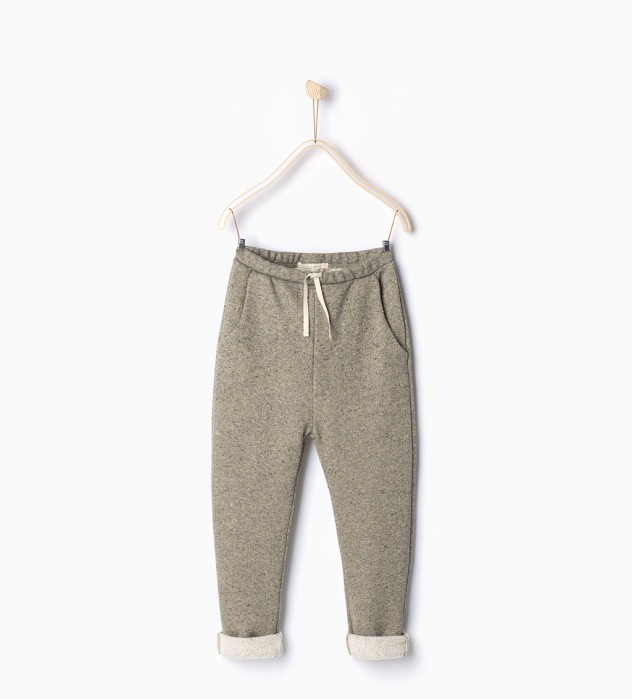 Glanzende joggingbroek