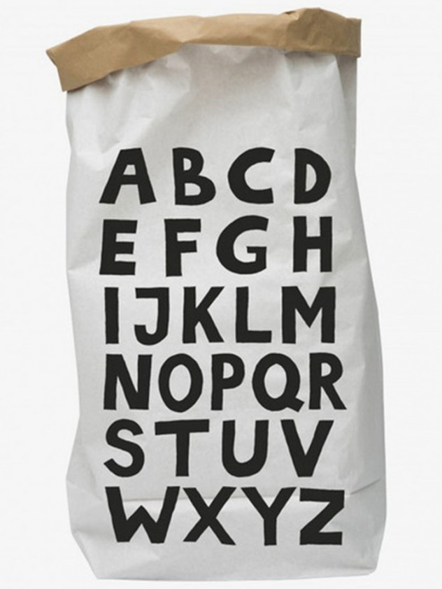 Wolf & wolkje paper bag ABC